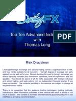 Top Ten Advanced Indicators With Tom Long TomLong