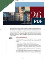Chapter 26 Web Extension Comparison of Alternative Valuation Models