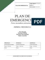 Plan de Emergencia (Autoguardado)