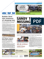 Asbury Park Press front page August 7, 2014