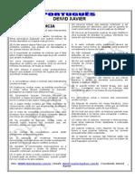 100 Questões de Língua Portuguesa Divididas Em Tópicos Fcc