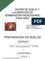 ppt pdf Calibración sembradora monograno para Maíz