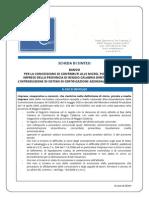 QCert - Scheda Di Sintesi Bando Per Le Certificazioni