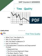 Ftq Overview