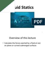 W1L2 Fluid Statics