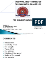 Ppt Safety Fire
