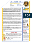 LMS 2014 Parent Student Newsletter August14