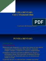 Curs 2.Examenul Clinic