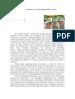 Proposta de atividade para Ensino Fundamental 1ª a 4ª série