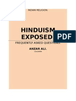 HINDUISM EXPOSED....................Anzar Ali