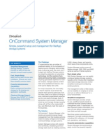 OnCommand System Manager