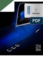 Corporate Presentation Fiat S.p.a. 2014