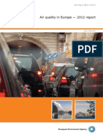 Calitatea aerului in Europa 2012