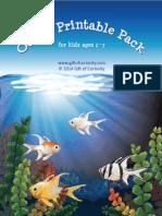 Ocean Printable Pack Gift of Curiosity 2014