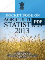 Agricultural Statistics India Handbook 2013