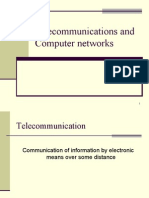 Telecommunications and Computer networks