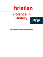 Christian Violence in History