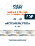 Ntd 4.37 - Criterios Para Identificacao e Simbologia Operacional
