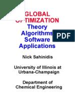Optimization Lecture