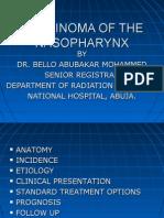 Carcinoma of the Nasopharynx2