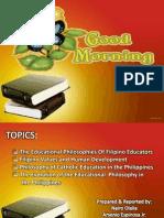 filipinoeducatorsandtheirphilosophies-120221083531-phpapp02
