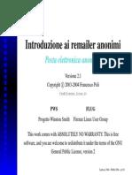 Introduzione Ai Remailers