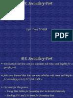 YZ-TIDE BA, Secondary Port.ppt