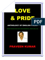 LOVE & PRIDE POETRY  (excerpts)