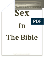 Sex in Bible