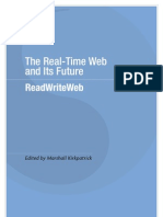 The Real-Time Web and its Future - Table of Contents