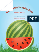 Watermelon Printable Pack 2014 for GOC Subscribers