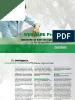 WEBWARE PPS Produktion - Ganzheitliche Betriebsorganisation für Fertigungsunternehmen im Web