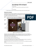 p3 Overview Indesign Workspace