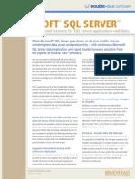 Protecting SQL Server