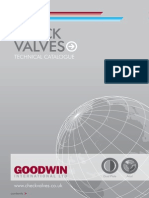 Goodwin Check Valve Technical Catalogue