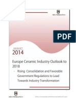 Europe Ceramic Industry Trends and Future Prospects