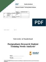 AQH-L6-1 Training Needs Analysis PDP