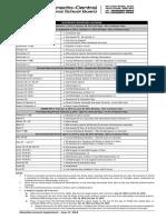 reporting calendar - secondary 2014-2015