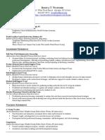 R.watford Resume 2014