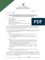 DepED Memorandum No.4 s.2014