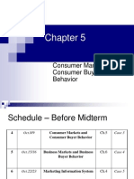 CH05 - Consumer Markets and Consumer Buyer Behavior