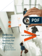 Accenture Delivering Employment Services for the Future Report