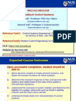 Feedback Control Systemsion Introduction