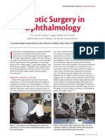 Robotic Surgery in Ophthalmology4482
