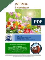DSDHH Aug 2014 Newsletter