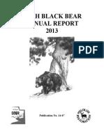 2013 Utah Annual Black Bear Report