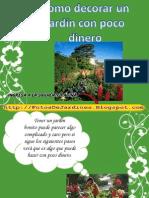 Aprende a Decorar Un Jardin Con Poco Dinero