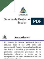 Presentación- Sistema de Gestión Ambiental Escolar