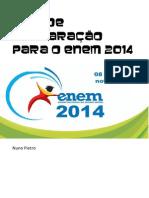 Guia de Preparação Para o Enem 2014