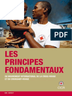 Les Principes fondamentaux du Mouvement international de la Croix-Rouge et du Croissant-Rouge